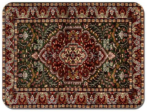 Persian Rug Design Print Mouse Mat. Vintage Carpet Print Quality Mouse Pad #4
